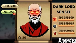 Shadow Fight 2 Most Powerful Sensei