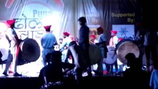 Puneri Dhol tasha competition 2015 Ranvadya puneri dhol tasha patak 2015