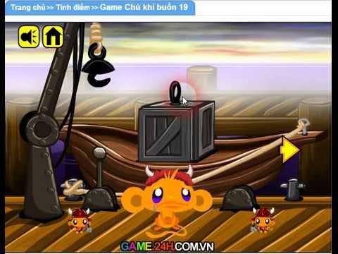 Game chú khỉ buồn 19 Game 24h com vn