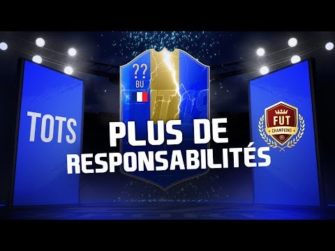 PACKS FUT CHAMPS - PLUS DE RESPONSABILITÉS !