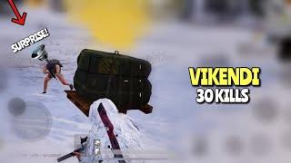 Snow Ghillie Suit Action | PUBG Mobile | 30 KILLS WIN!