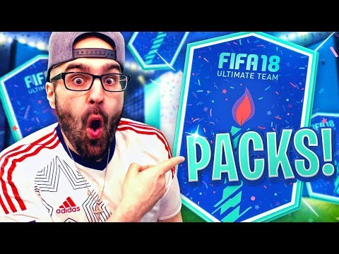 OMG I PACKED A ICON AND BIRTHDAY CARD IN MASSIVE FIFA 18 #FUT BIRTHDAY PACK OPENING