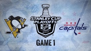 Crosby's pair leads Pens past Caps in Game 1, 3-2