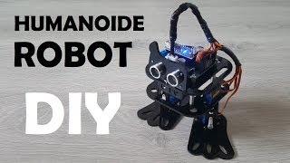 Robot Humanoide DIY Arduino - Montaje y pruebas