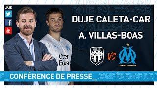 VIDEO: Angers - OM La conférence de presse de Duje Caleta-Car & d'André Villas-Boas