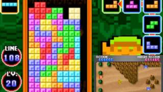 Tetris DS - Marathon (level 20 start, perfect run)