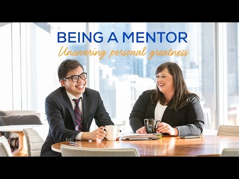 Being A Mentor: Uncovering Personal Greatness