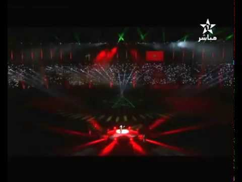 Asmae lamnawar's performance in the Opening ceremony of the FIFA Club World Cup Morocco 2014
