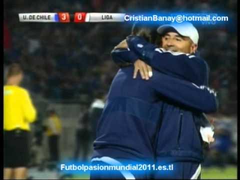 Universidad de Chile 3 Liga de Quito 0 (ADN Radio Chile) Copa Sudamericana 2011  (14/12/2011)