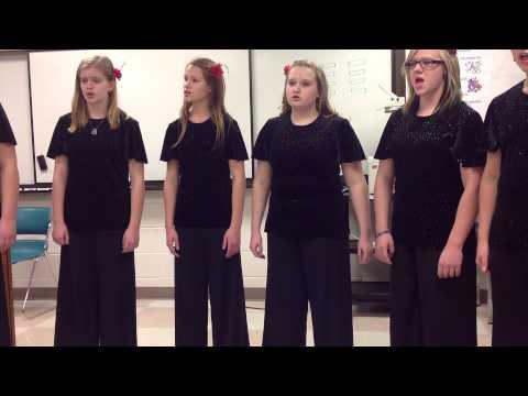 Samantha (Ensemble) singing