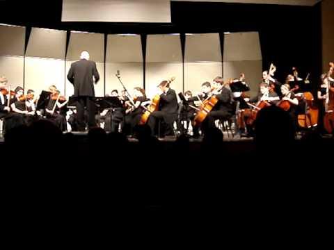 Shawnee Mission West high school  Orchestra - Danse Bacchanale