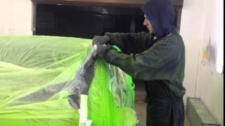 Покраска жидкой резиной