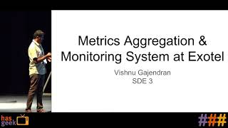 Building a reliable and scalable metrics aggregation and monitoring system