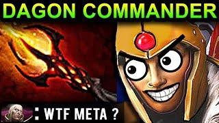 DAGON LEGION COMMANDER - DOTA 2 PATCH 7.07 NEW META PRO GAMEPLAY