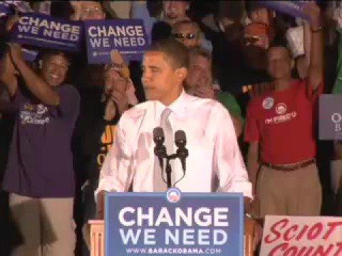 Barack Obama: Portsmouth, Ohio