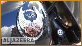 🇺🇸 Trump slams Harley Davidson | Al Jazeera English