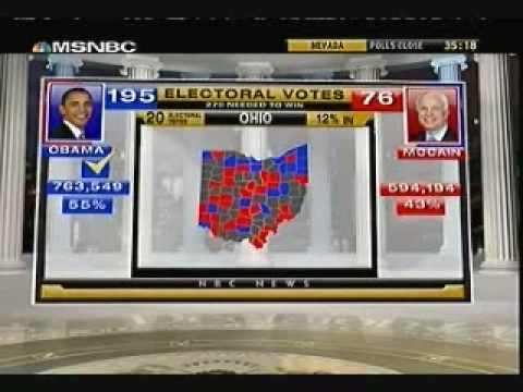 MSNBC Projects Ohio For Obama