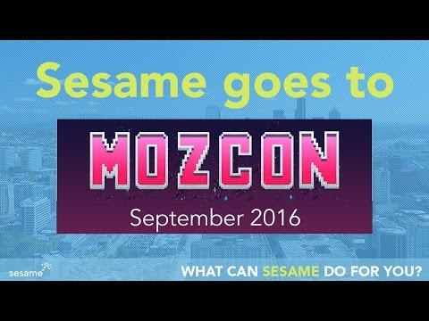 Sesame Goes To MOZCON!