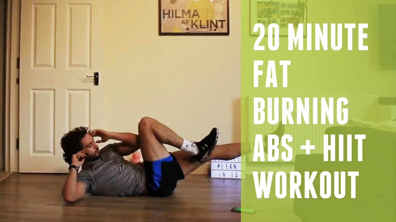 20 Min Fat Torching HIIT + Abs Workout Created by The Body Coach TV
