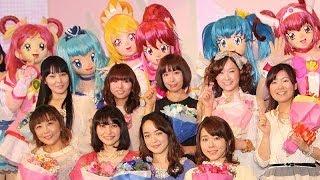 中島愛ら声優陣が集結!(2) 劇場版アニメ「プリキュアオールスターズ NewStage3」舞台あいさつ #Pretty Cure All Stars #Japanese Anime