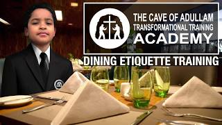 Dining Etiquette Training at Ocean Prime (Troy)