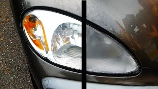 How to Restore Headlights PERMANENTLY thumbnail