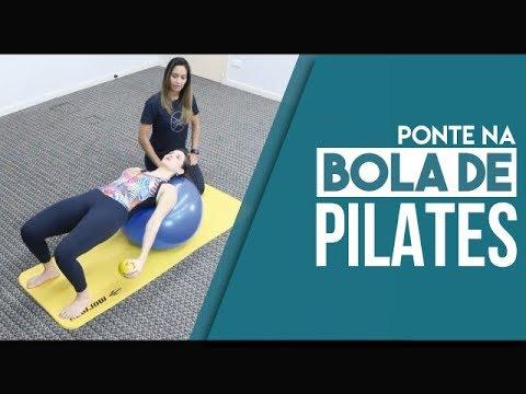 Pilates para Coluna: Ponte na Bola