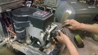how to adjust the valves on a riding lawn mower
