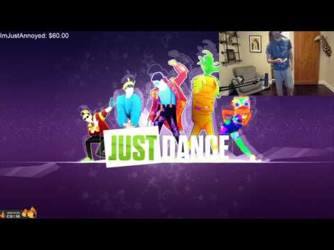 Chance Breaks Some Moves On Just Dance!