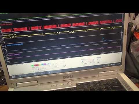 Диагностика Мазда 3 осциллографом Диамаг-2