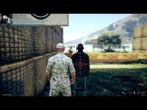 GTA 5 RP (REDAGE #2 White) Практика стрельба с карабина! (ARMY SANG)
