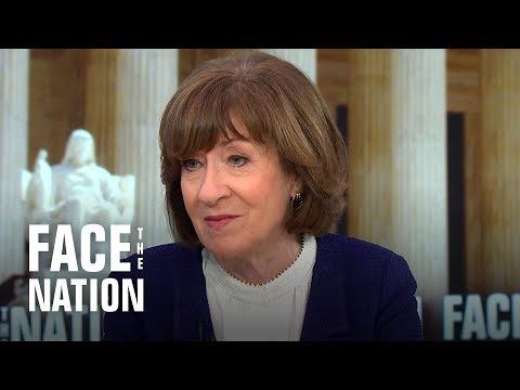 """Full interview: Sen. Susan Collins appears on """"Face the Nation"""""""