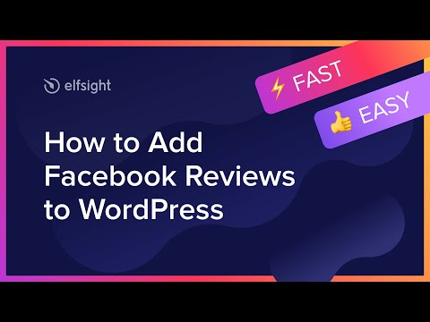 How to Add Facebook Reviews to WordPress (2021)