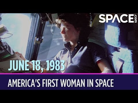D. K. Smith - June 18, 1983 Sally Ride becomes the first American woman in space