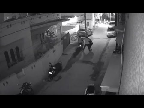 Caught on cam | Two scooter-borne men sexually assault a girl