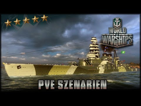 World of Warships - PvE Szenarien - Unternehmen Newport [ deutsch 🐄 gameplay ]