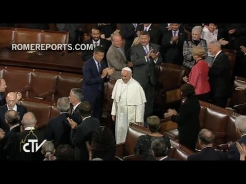 Historic Moment: Pope Francis visits the U.S. Congress