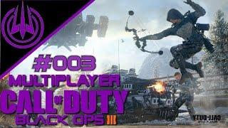 Call of Duty: Black Ops 3 - Multiplayer #003 - 2 Runden Live - Erfahrung sammeln - Deutsch HD