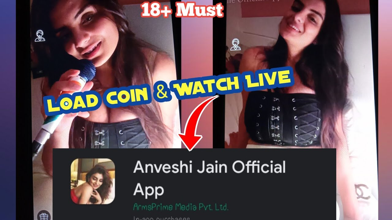 Download How to load Coin & watch live video anveshi jain official  app 😎