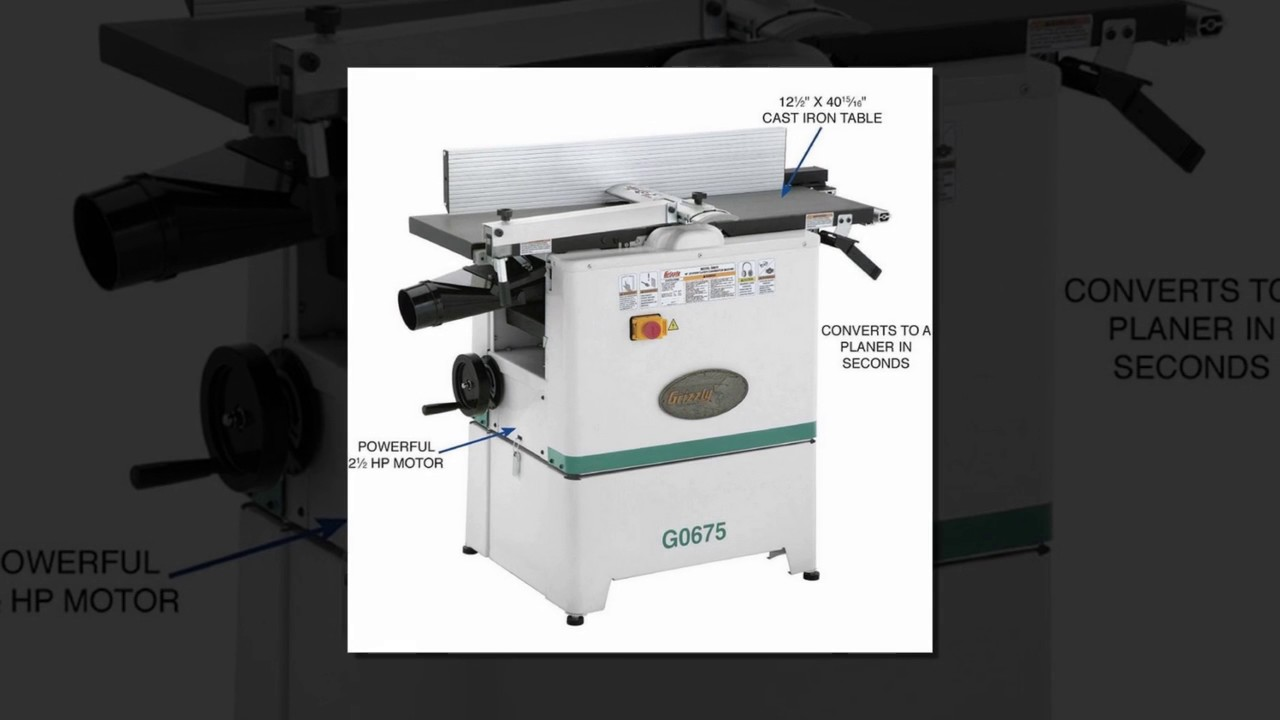 Grizzly G0675 10 Jointer Planer Combo Review