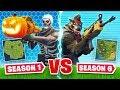 SEASON 1 vs. SEASON 6 In Fortnite!