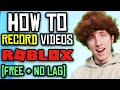 - How To Record ROBLOXs.. FREE & NO LAG | OBS Studio | Fifine T669 Streaming Mic Giveaway