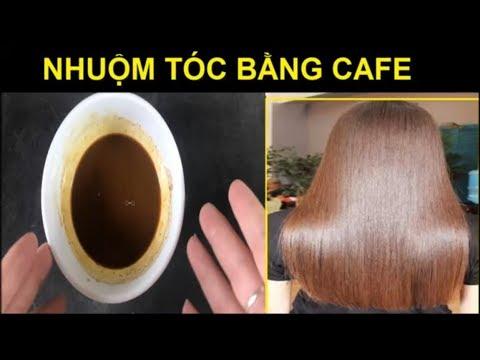Cách nhuộm tóc bằng cà phê đen tại nhà đẹp như tóc Hàn Quốc [Đẹp Online]