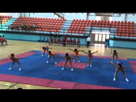Bơ nhảy aerobic quy định lớp 4-5 trường Việt Úc