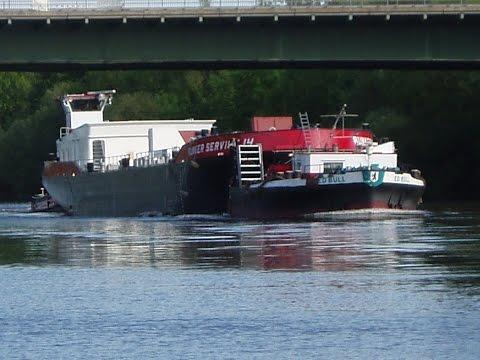⚓ shipspotting Frankfurt/Main: SBO PAULA ENI 04802120 + Kasko BUNKER SERVICE 14 + ED BULL