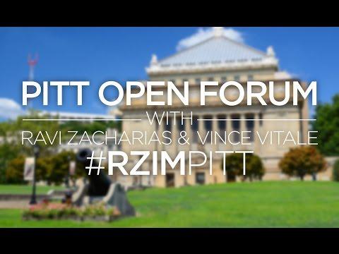 University of Pittsburgh Open Forum