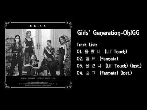 "[FULL ALBUM] Girls' Generation-Oh!GG The 1st Single Album ""몰랐니 (Lil' Touch)"""