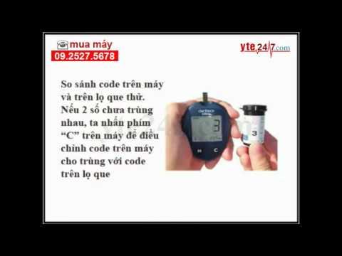 Hướng dẫn sử dụng máy đo đường huyết One Touch Ultra