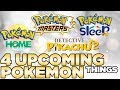 4 NEW Pokemon Games/Services Announced Today