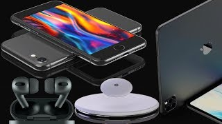 Apple слила всю презентацию: iPhone 9, AirPods 3, AirTag, iPad Pro 2020 ! iPhone SE 2 обзор
